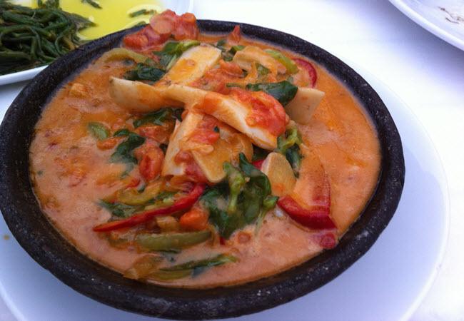 Culinary delights of Urla
