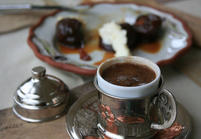Perfect way to end a dinner: Turkish cofee