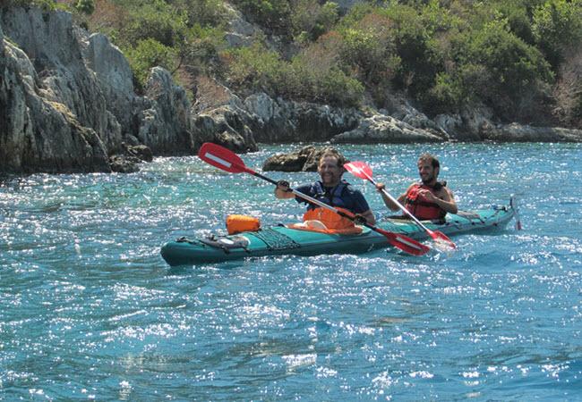 Kayaking the Kekova Sound